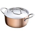 24c triply copper casserole