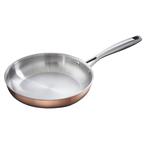 24cm triply copper frying pan