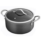 24cm hard anodised casserole