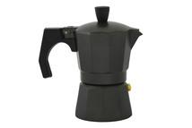 2 cup espresso maker - black