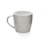 white poreclain stubby mug