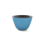 cast iron tea cup - turq
