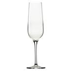 crystal sparkling wine flute glass