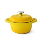 18cm casserole - yellow