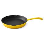 25cm yellow frying pan
